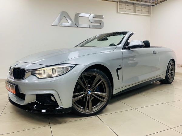 2015 BMW 4 Series 420i CONVERTIBLE M SPORT AUTO FULLY LOADED Gauteng Benoni_0