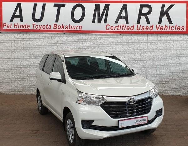 2019 Toyota Avanza 1.3 SX Gauteng Boksburg_0