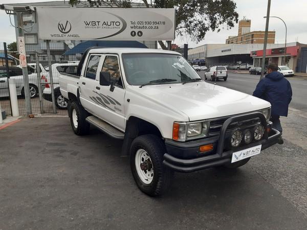 1992 Toyota Hilux 2400 4x4 Pu Sc  Western Cape Cape Town_0