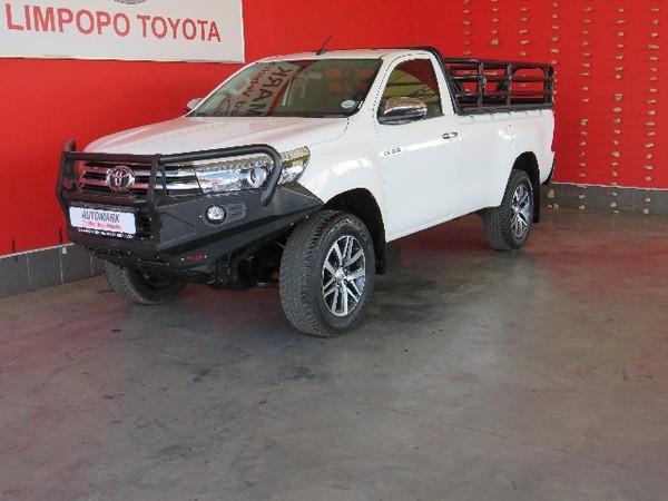 2019 Toyota Hilux 2.8 GD-6 Raider 4x4 Single Cab Bakkie Auto Limpopo Polokwane_0