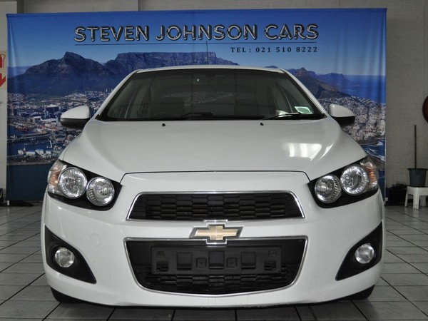 2012 Chevrolet Sonic 1.6 Ls At  Western Cape Cape Town_0