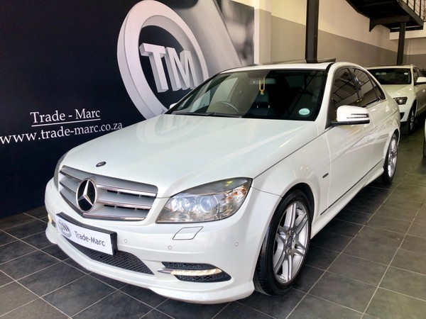 2011 Mercedes-Benz C-Class C220 Cdi Be AMG At Gauteng Four Ways_0