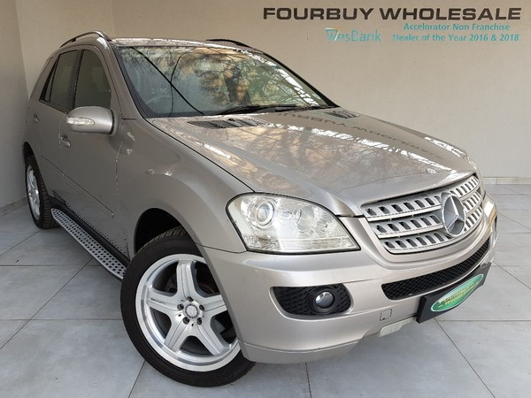 2007 Mercedes-Benz M-Class Ml 320 Cdi At  Gauteng Four Ways_0