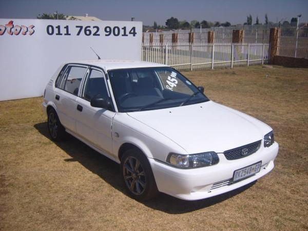 2002 Toyota Tazz 130  Gauteng Roodepoort_0