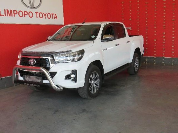 2019 Toyota Hilux 2.8 GD-6 Raider 4X4 Auto Double Cab Bakkie Limpopo Polokwane_0