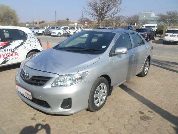 2011 Toyota Corolla 1.6 Professional  Limpopo Messina_0