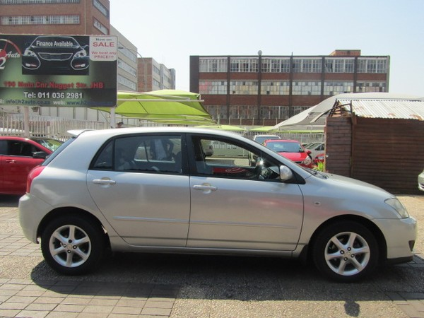 2007 Toyota RunX 160i SPORT Gauteng Johannesburg_0