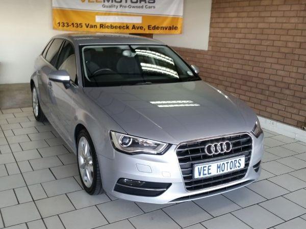 2015 Audi A3 1.8T FSI SE Gauteng Edenvale_0