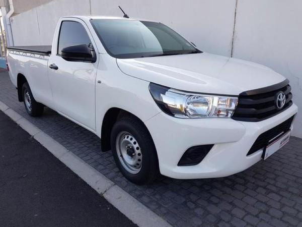 2017 Toyota Hilux 2.4 GD AC Single Cab Bakkie Western Cape Table View_0