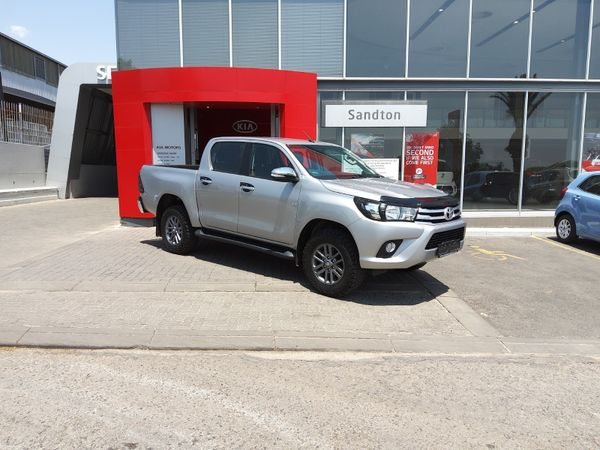 2018 Toyota Hilux 4.0 V6 Raider 4x4 Double Cab Bakkie Auto Gauteng Sandton_0