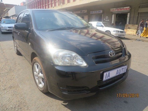2005 Toyota RunX 140i R  Gauteng Johannesburg_0