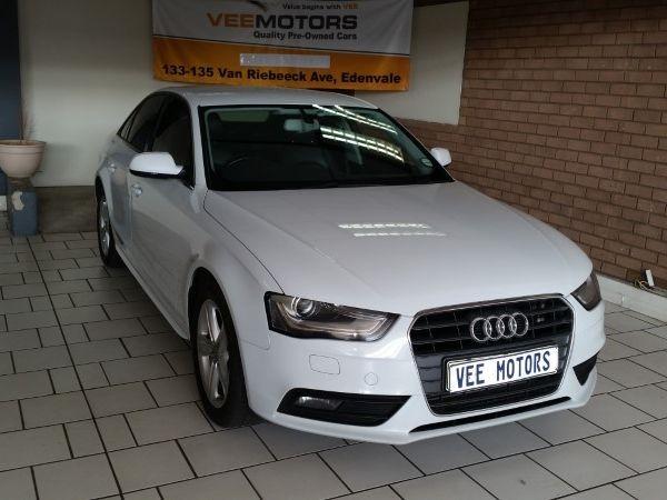 2012 Audi A4 2.0 Tdi Se Multitronic  Gauteng Edenvale_0