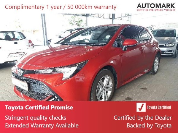 2019 Toyota Corolla 1.2T XS CVT 5-Door Eastern Cape King Williams Town_0