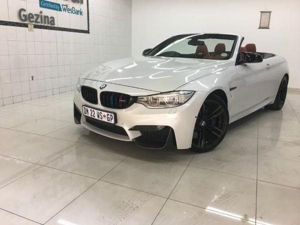2015 BMW M4 Convertible M-DCT Gauteng Pretoria_0