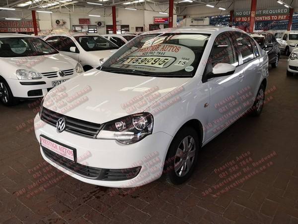2015 Volkswagen Polo Vivo 1.4 Trendline Western Cape Goodwood_0