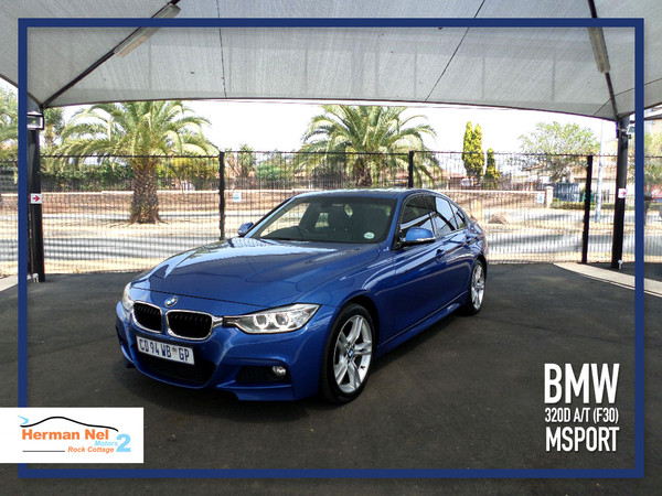 2012 BMW 3 Series 320d At f30 MSport Gauteng Roodepoort_0
