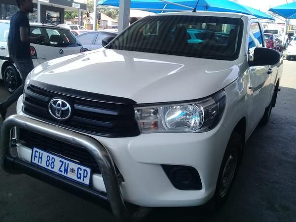 2016 Toyota Hilux 2.4 GD-6 RB SRX Single Cab Bakkie Gauteng Johannesburg_0