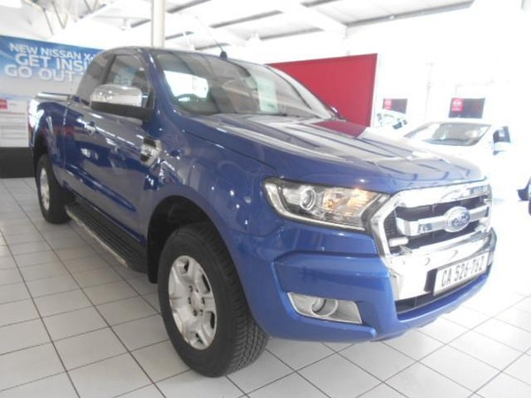 2016 Ford Ranger 3.2TDCi XLT 4X4 AT PU SUPCAB Western Cape Cape Town_0