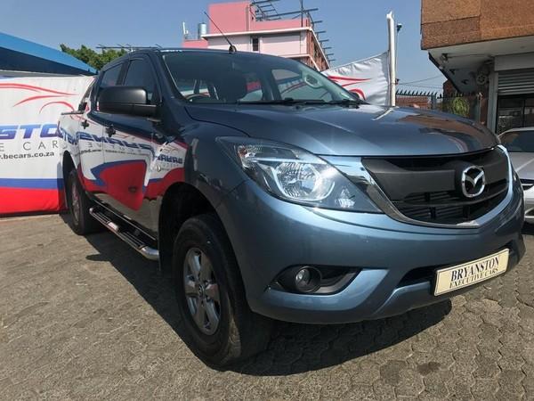 2018 Mazda BT-50 2.2TDi SLX Double Cab Bakkie Gauteng Bryanston_0