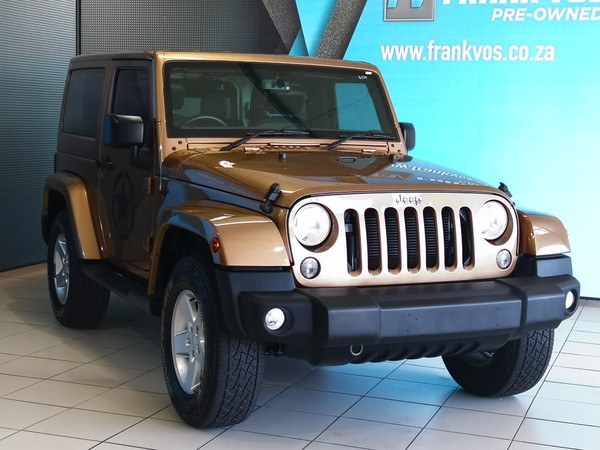2015 Jeep Wrangler Sahara 3.6l V6 At 2dr  Western Cape Somerset West_0