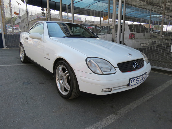 1999 Mercedes-Benz SLK-Class Slk 230 Kompressor At  Gauteng Johannesburg_0