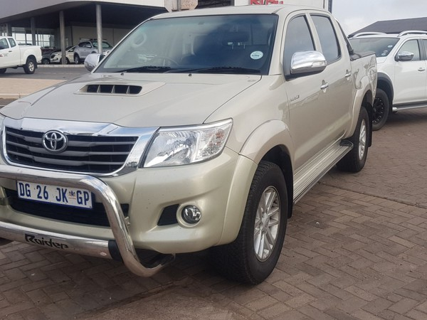 2014 Toyota Hilux 3.0d-4d Raider Rb At Pu Dc  Western Cape Vredenburg_0