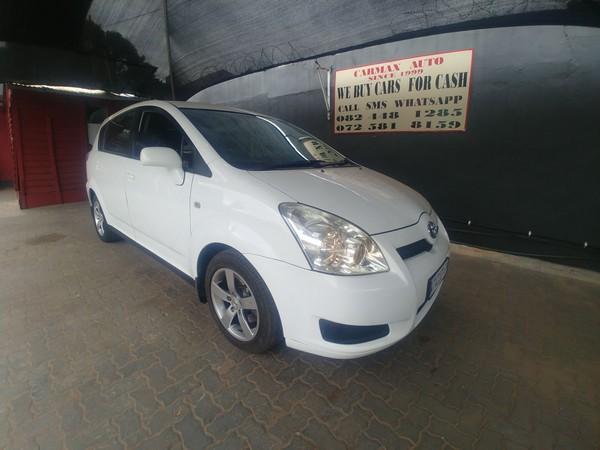 2008 Toyota Verso 1.6 Sx  Gauteng Johannesburg_0
