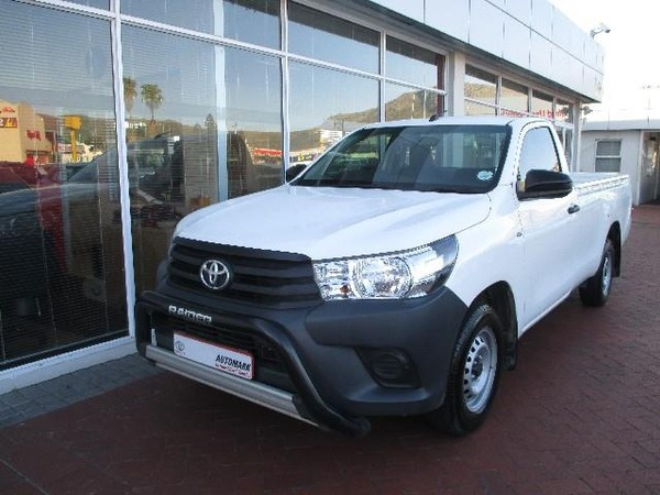 2019 Toyota Hilux 2.4 GD Single Cab Bakkie Western Cape Tokai_0