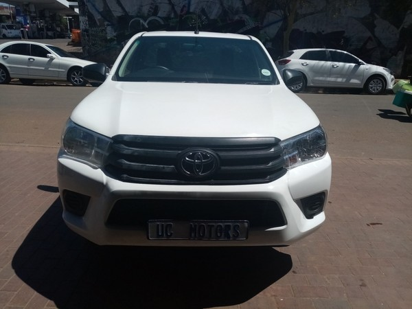2018 Toyota Hilux 2.0 VVT Single Cab Bakkie Gauteng Germiston_0