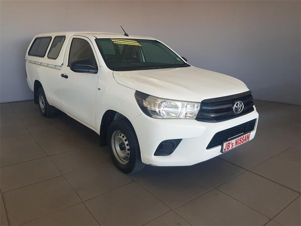 2016 Toyota Hilux 2.4 GD AC Single Cab Bakkie Western Cape Malmesbury_0