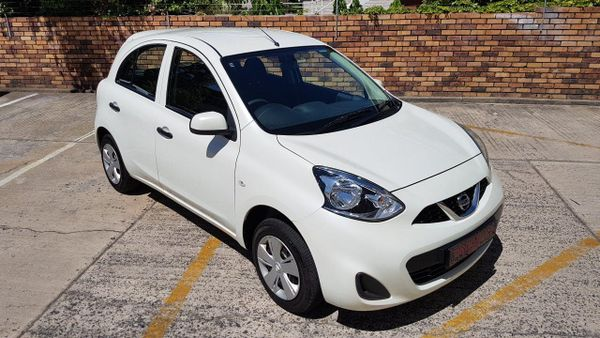 2018 Nissan Micra 1.2 Active Visia Western Cape Paarl_0