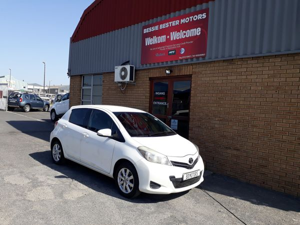 2012 Toyota Yaris 1.0 Xs 5dr  Western Cape Brackenfell_0