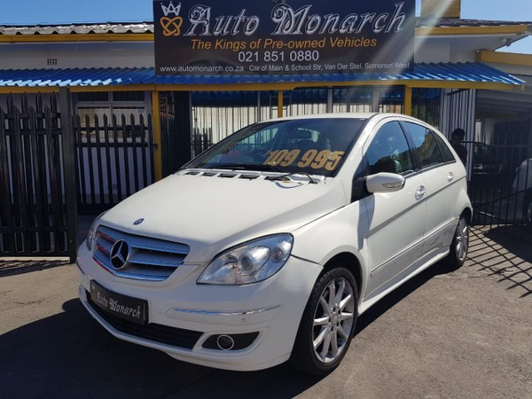 2007 Mercedes-Benz B-Class B 200 Cdi  Western Cape Somerset West_0