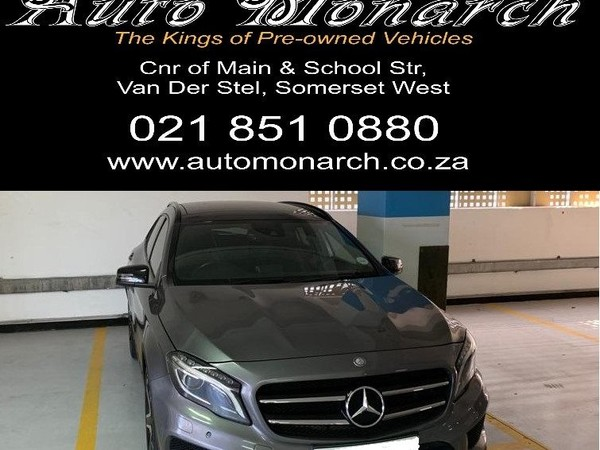 2015 Mercedes-Benz GLA-Class 220 CDI Auto Western Cape Somerset West_0