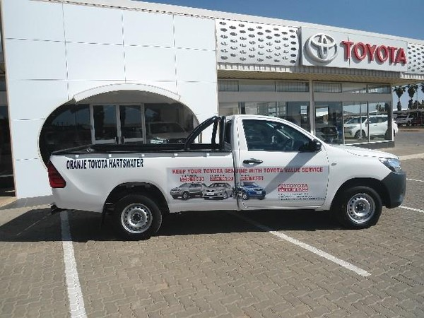 2019 Toyota Hilux 2.4 GD AC Single Cab Bakkie Northern Cape Hartswater_0