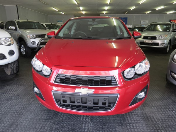 2012 Chevrolet Sonic 1.4 Ls 5dr  Western Cape Goodwood_0