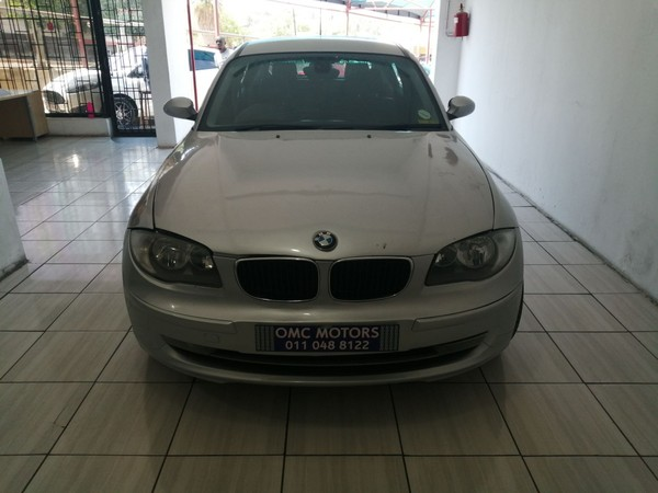 2008 BMW 1 Series 118i 3dr At e81  Gauteng Johannesburg_0