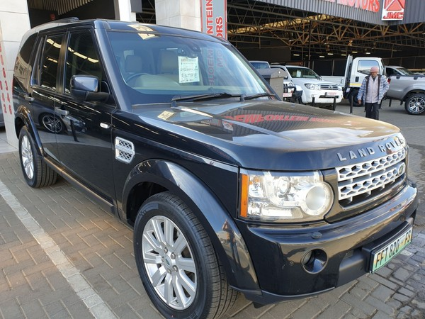 2012 Land Rover Discovery 4 3.0 Tdv6 HseMANAGERS SPECIAL Free State Bloemfontein_0