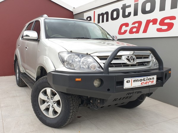 2007 Toyota Fortuner 4.0 V6 At 4x4 Immaculate Condition Gauteng Randburg_0