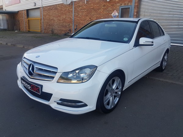 2013 Mercedes-Benz C-Class C200 Be Classic At  North West Province Klerksdorp_0
