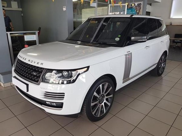 2017 Land Rover Range Rover 5.0 V8 Sc Vogue Se  North West Province Brits_0