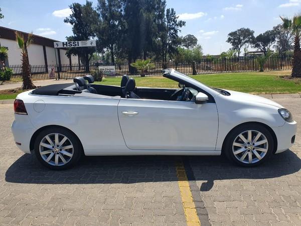 2012 Volkswagen Golf Vi 1.4 Tsi Cabrio 118kw Hline  Gauteng Vanderbijlpark_0