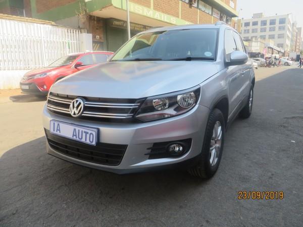 2013 Volkswagen Tiguan 1.4 Tsi Track-field 4mot  Gauteng Johannesburg_0