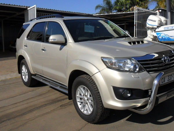 2012 Toyota Fortuner 3.0d-4d Heritage Rb At  Gauteng North Riding_0
