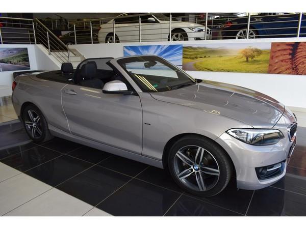 2015 BMW 2 Series 220i Convertible Sport Line Auto F23 Gauteng Pretoria_0
