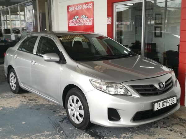 2011 Toyota Corolla 1.6 Professional  Western Cape_0