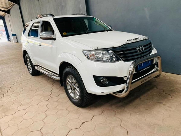 2014 Toyota Fortuner 4.0 V6 Rb At  Gauteng Silverton_0