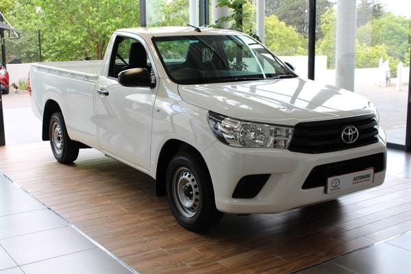 2018 Toyota Hilux 2.0 VVTi AC Single Cab Bakkie Gauteng Bryanston_0