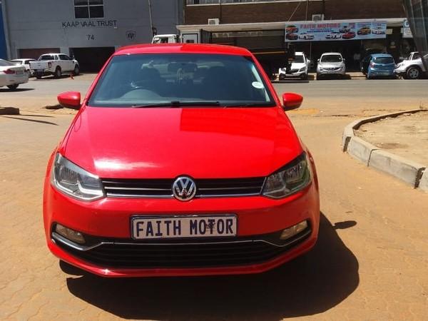 2015 Volkswagen Polo 1.2 highline Gauteng Johannesburg_0