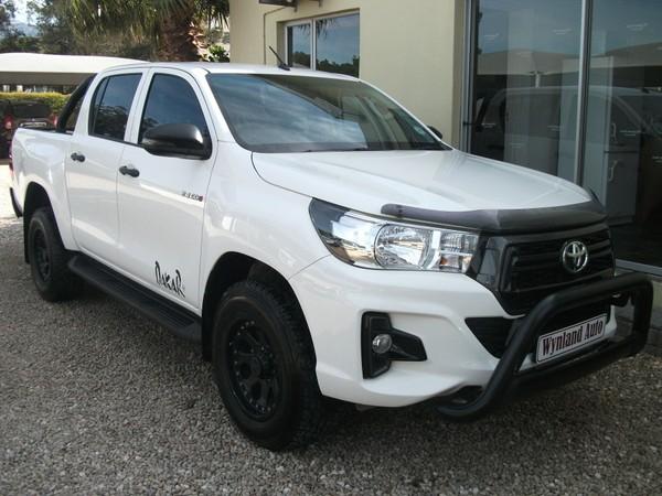 2019 Toyota Hilux 2.4 GD-6 RB SRX Double Cab Bakkie Western Cape Worcester_0